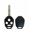 2008-2014 Subaru 4-Button Remote Head Key SHELL Replacement For CWTWB1U811 & CWTWBU766 / DA34 (RHS-SUB-002)