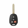 2014-2018 Toyota Camry / 4-Button Remote Head Key / HYQ12BDM (H Chip) (RHK-TOY-BDM-H-4)
