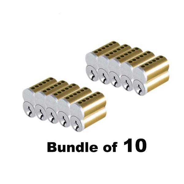 10 x Small Format IC Core Cylinder SFIC - 6 Pins (Bundle of 10)