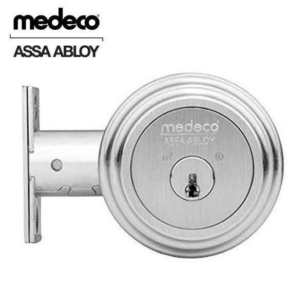 Medeco Residential BiLevel - Single Deadbolt - 26 - Satin Chrome