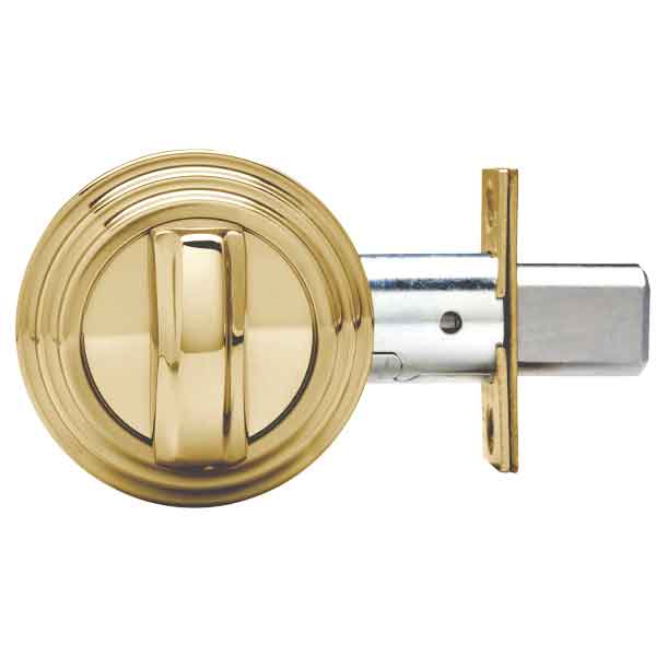 Medeco Maxum  Residential BiAxial - Single Deadbolt - 05 - Bright Brass