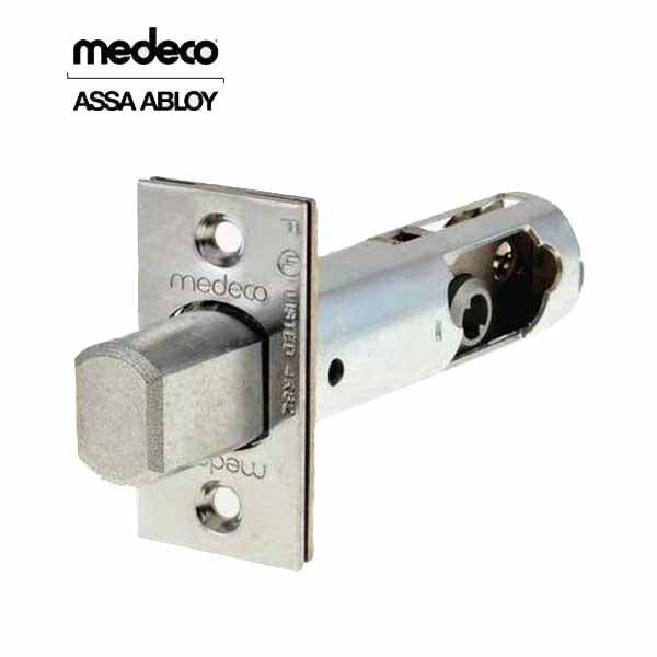 "Bolt Assembly Only (Medeco) - 2-3/4"" - 26 - Satin Chrome"