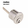 Medeco BiLevel Rim Cylinder - 26 - Satin Chrome