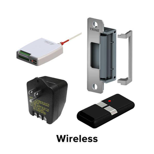 Trine - Wireless Kit - Electric Strike Buzzer System Kit - Fits Any Door