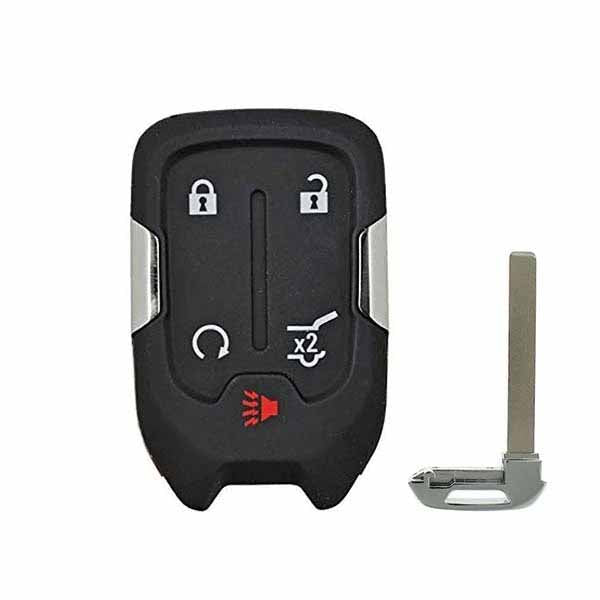 2015-2019 GM GMC Chevrolet / 5-Button Smart Key SHELL for HYQ1AA / HYQ1EA (SKS-GM-010)