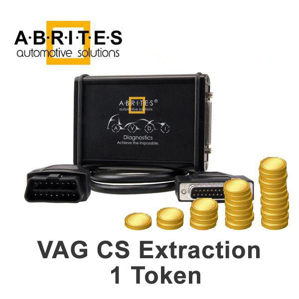 Abrites AVDI - VAG CS Extraction - 1 Token