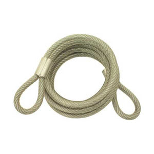 "Abus - 66 - Coiled Steel Cable - 5/16"" x  6' Foot"