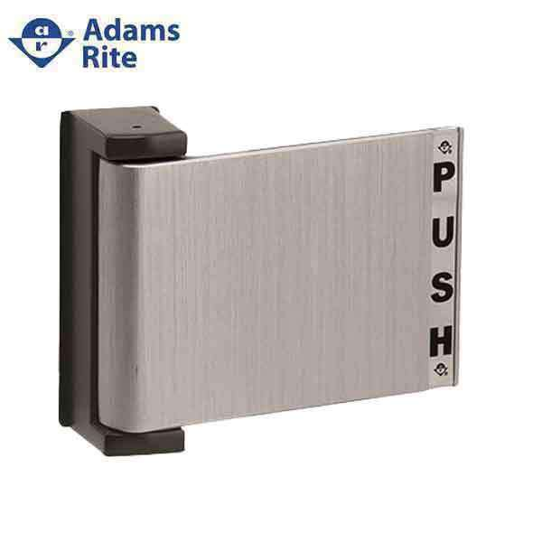 "Adams Rite - 4590 - Deadlatch Paddle Handle -  Push to Right -  1-3/4"" Door - Aluminum Anodized - for  4300/4500/4900 Deadlatches"