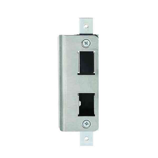 Adams Rite - 4901 - Deadlatch Strike -  Flush Mount Flat Strike - Stainless Steel