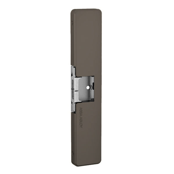 Adams Rite - 7800 - Electric Strike for Adams Rite Rim Exit Devices - Adjustable Fail Safe/Fail Secure - Dark Bronze - Adjustable 12/24 VDC