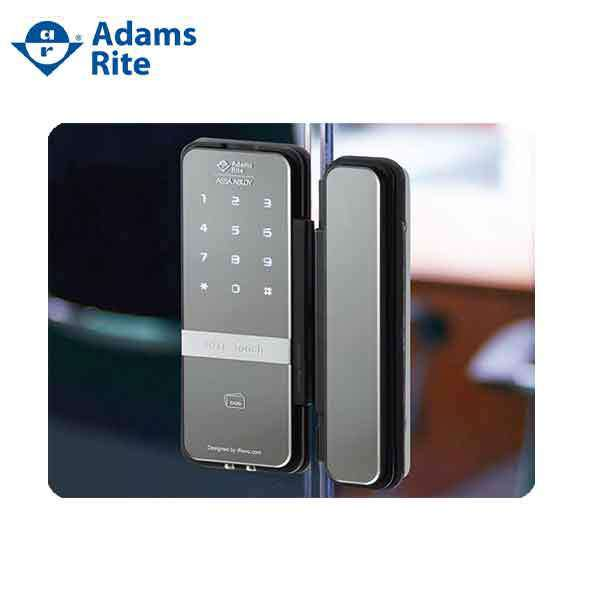 Adams Rite - RITE Touch -1050 Digital Glass Door Lock - w Thumb Turn