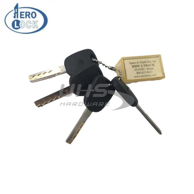 Aerolock BMW 2-Track HU92 Space & Depth Keys (BMW6)