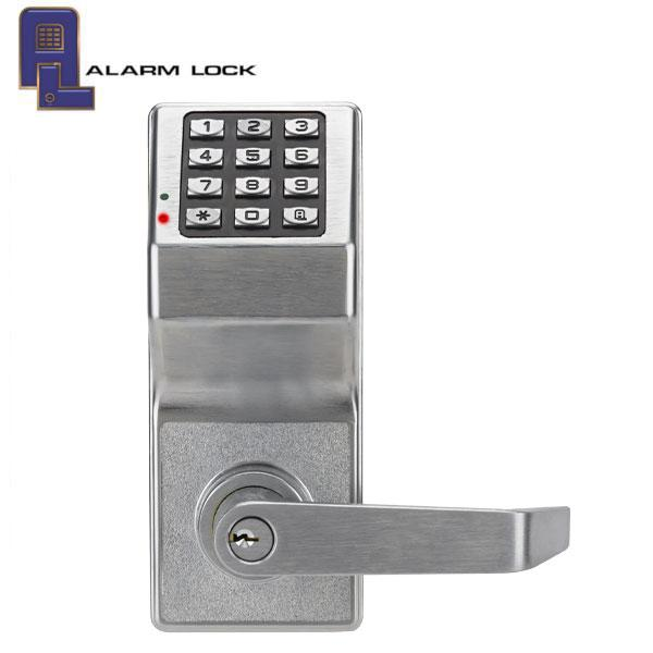 Trilogy DL2700 Keypad Lever Lock / Satin Chrome (Alarm Lock)