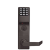 Trilogy DL3500CRL Classroom Mortise Lever Lock / w/ Audit Trail / Duronodic / Left Handed (Alarm Lock)
