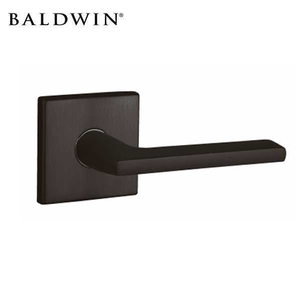 Baldwin Estate - 5162 Leverset - R017 Square Rose - 102 - Oil Rubbed Bronze - Privacy - Grade 2