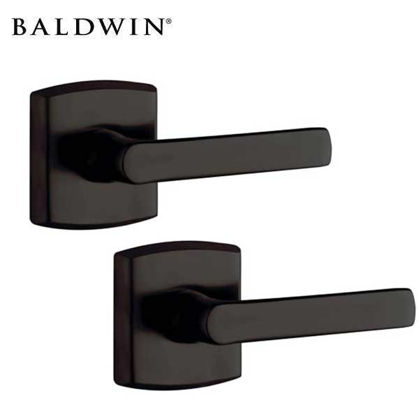 Baldwin Estate - Soho Leverset - R026 Rose - 102 - Oil Rubbed Bronze - Passage - Grade 2