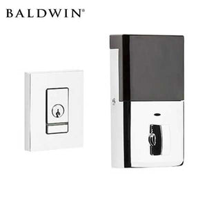 Baldwin Estate Evolved - 8220.B - Contemporary Electronic Deadbolt - Singl Cyl - Bluetooth - 260 - Polished Chrome - Grade 2