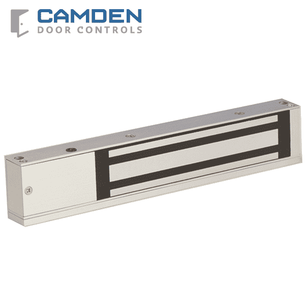 Camden CX-91S-06 - Single Door Surface Mount Mag Lock - 600 lb Holding Force - 12/24 VDC - UL/UCL Listed