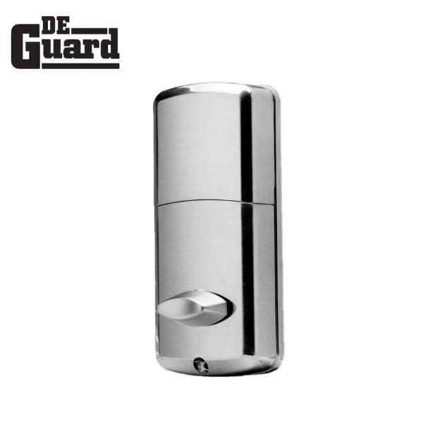 Electronic Bluetooth Touchscreen Deadbolt (Satin Silver) w/ Phone App & Key Override