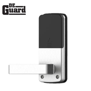 Touchscreen Bluetooth Lever Lock (Satin Silver) w/Phone App