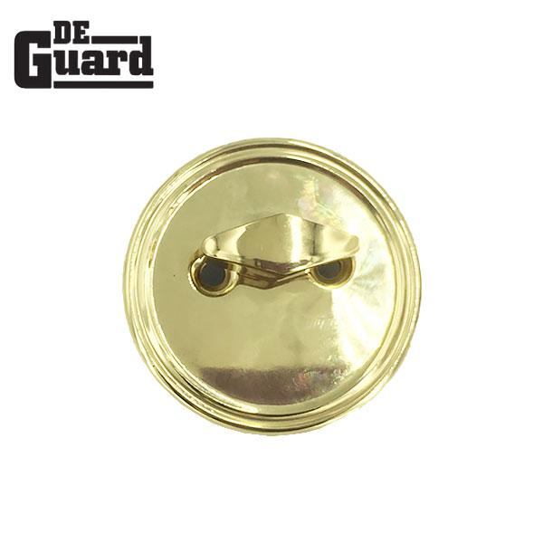 Premium Spin To Lock Deadbolt – US3 – PB – Polished Brass – SC1 Keyway