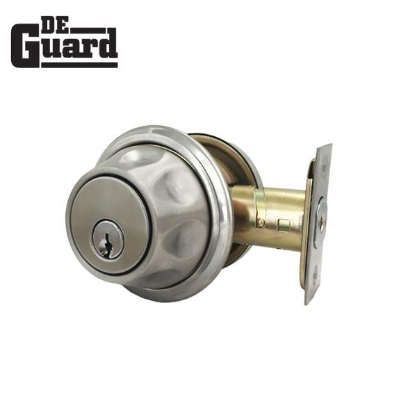 Premium Spin To Lock Deadbolt – 26D – SS – Silver – KW1 Keyway