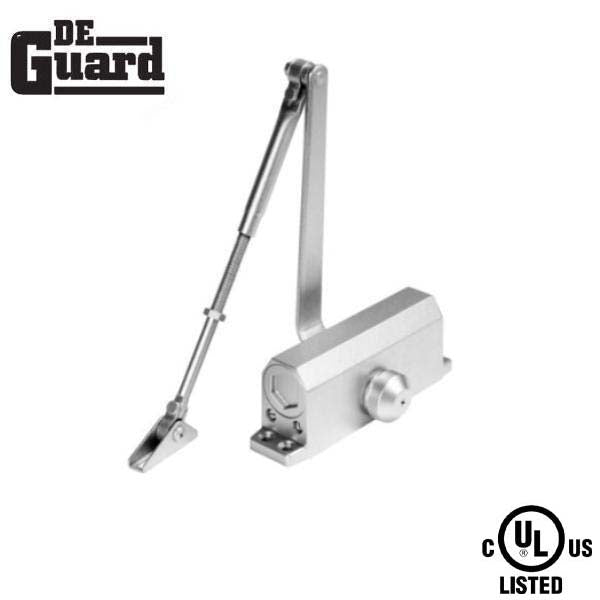 Hydraulic Door Closer / w/ P.A Bracket / Grade 1- Satin Nickel - Size 2