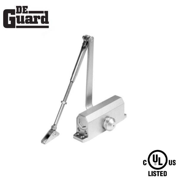 Hydraulic Door Closer / w/ P.A Bracket /  Grade 1 - Satin Nickel - Size 3