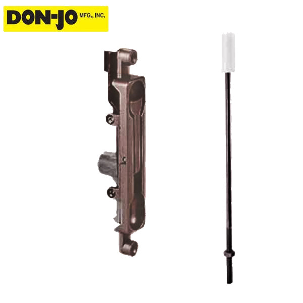 Don-Jo - Aluminum Door - Flush Bolt 1550 - 1/8″ - Duranodic - ORB (DNJ-1550-DU)