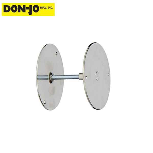 "Don-Jo - Hole Filler Plate 1-7/8"" - Plated Chrome (BF-178)"