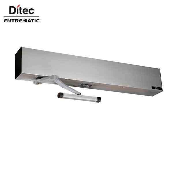 "Ditec - HA8-SP - Standard Profile Swing Door Operator - PULL Arm - Left Hand -  Clear Coat  (39"" to 51"") For Single Doors"