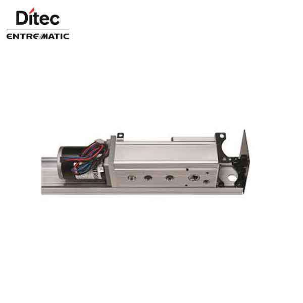 "Ditec HA8-SP - Standard Profile Swing Door Operator - Left PULL- Right PULL - Clear Coat - 75"" For Double Doors"