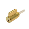 GMS KIK Cylinder - w/ Multi-Tailpiece - 5-Pin - US3 - Polished Brass