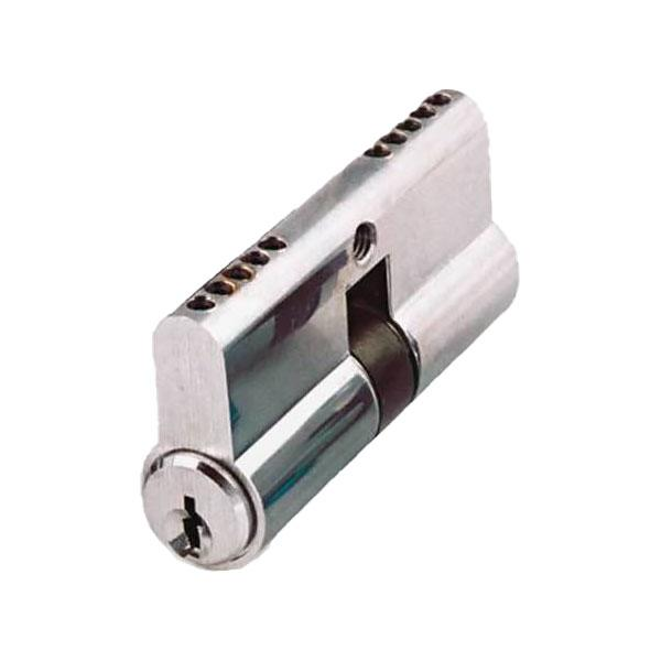 GMS Profile Cylinder - Double Sided - SC1 - US26D - Satin Chrome