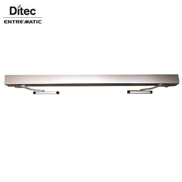 "Ditec - HA8-LP - Low Profile Swing Door Operator - Left PUSH- Right PUSH - Clear Coat - 75"" For Double Doors"