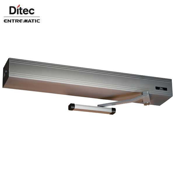 "Ditec - Entrematic - HA8-LP - Low Profile Swing Door Operator - PUSH Arm - Non Handed - Clear Coat  (39"" to 51"") For Single Doors"