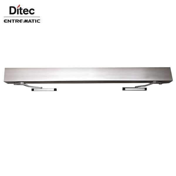 "Ditec - HA9 - Full Feature Door Operator - Double PULL Arm - Non Handed -  Clear Coat - 75"" For Double Doors"