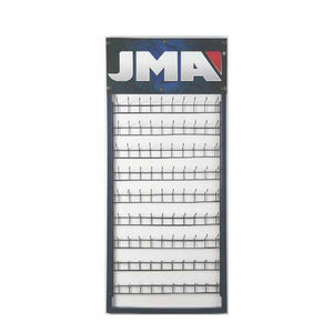 JMA - 90 Hook - 9 Row - Wall Display Rack for Keys
