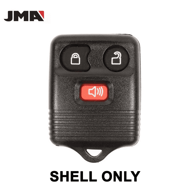 1999-2013 Ford / 3-Button Keyless Entry Remote SHELL for CWTWB1U331 (JMA)