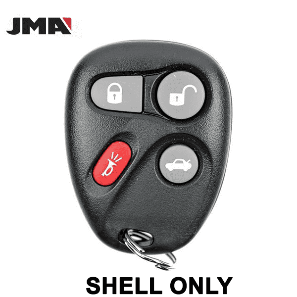 1996-2002 GM / 4-Button Keyless Entry Remote SHELL for AB01502T / ABO0204T (JMA)