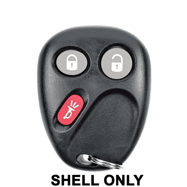 2003-2007 GM / 3-Button Keyless Entry Remote SHELL for LHJ011 (JMA)