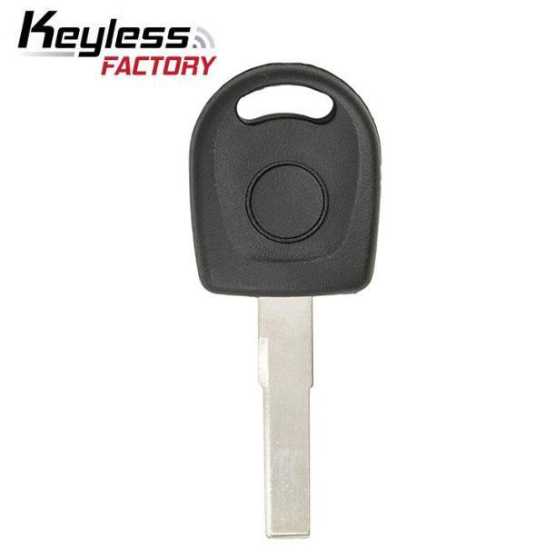 2000-2006 VW  Audi HU66T6 Transponder Key (K-VW-48)