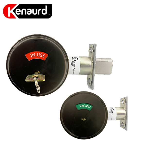 Premium Commercial Privacy Indicator Deadbolt – 10B – Oil Rubbed Bronze – Grade 2