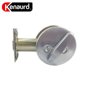 Premium Commercial Privacy Indicator Deadbolt – 26D – Silver – Grade 2