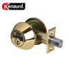 Premium Double Cylinder Deadbolt Lock - Polished Brass (SC1/KW1)