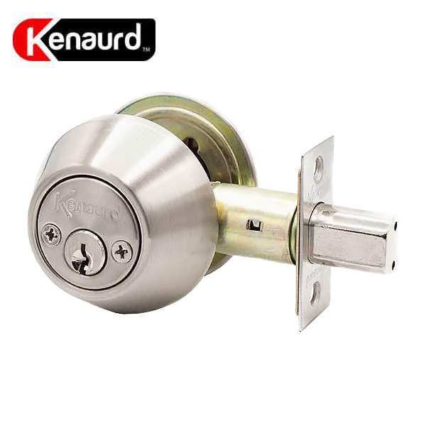 Premium Double Cylinder Deadbolt Lock - Stainless Steel (SC1/KW1)