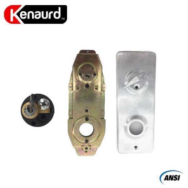 "Premium Interconnected Lock – Deadbolt & Lever – Entrance – SC- 26D –  3-11/32"" Rose -  Grade 2"