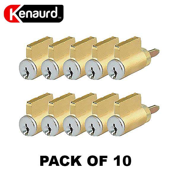 Premium Key-In-Knob (KIK) Cylinder - US26D  (Pack of 10)
