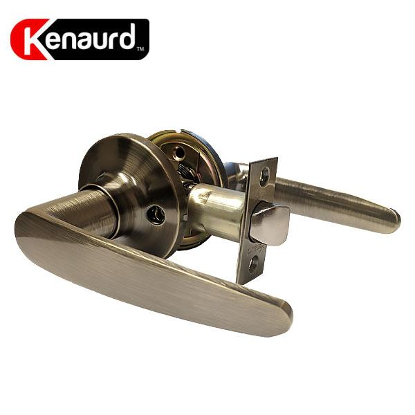 Premium Leverset Handle Lock - Passage - AB - Antique Brass