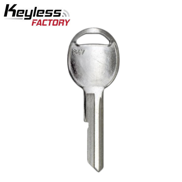 GM B47 / S1098K Mechanical Metal Head Key (KLN-BB47)
